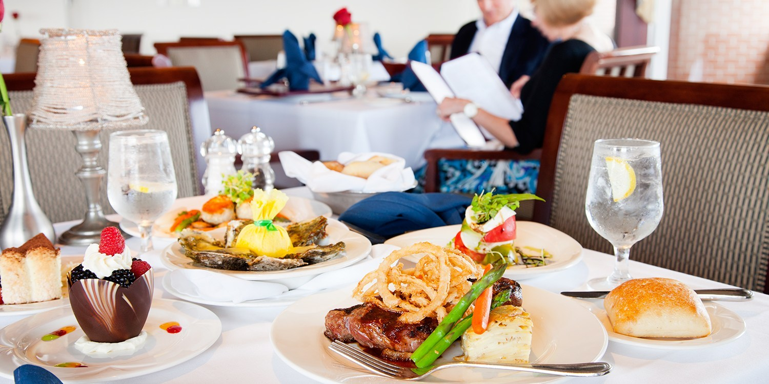 $79 -- Private Tysons Corner Club: 17th-Floor Dinner for 2