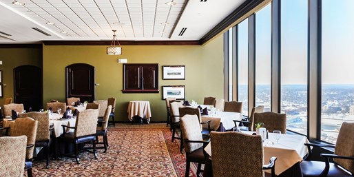 $40 -- Dayton Racquet Club: 29th-Floor Dinner for 2