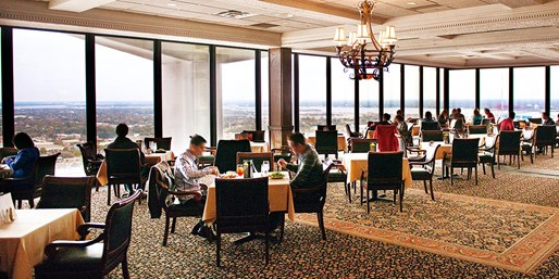 $79 -- Riverplace Tower: Dinner for 2 w/Panoramic Views