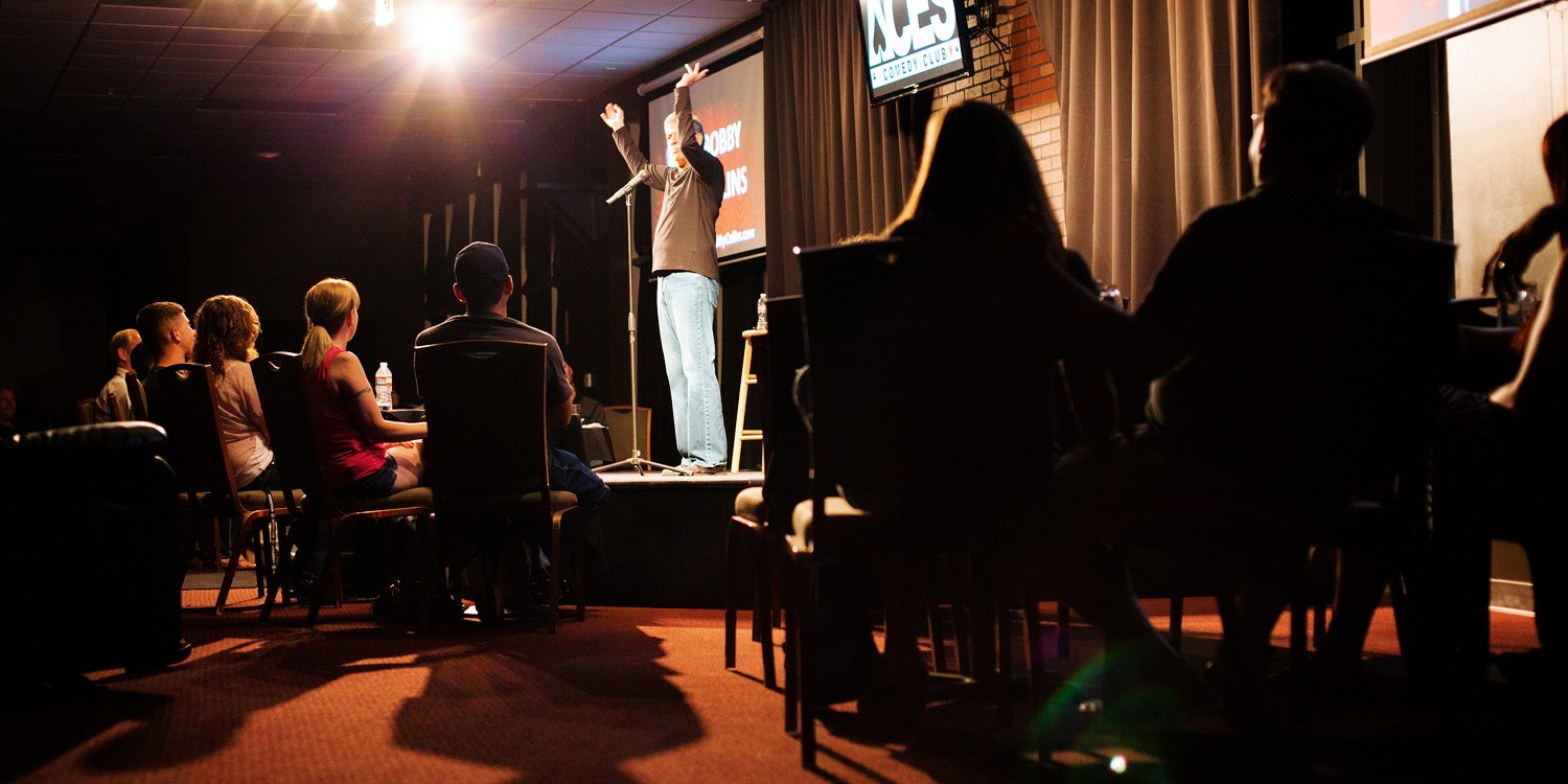 Aces Comedy Club: Tickets for 2 or 4, up to 50% Off