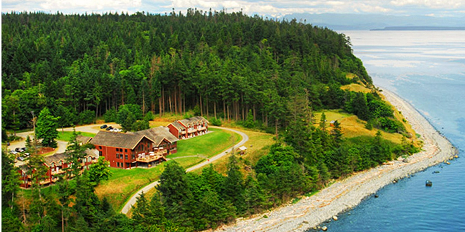 Travelzoo Deal: $110 -- B.C. Gulf Islands 2-Nt. Oceanfront Retreat, 40% Off
