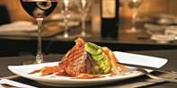 49€ -- Wunschmenü für 2 im russischen Restaurant & Krim-Sekt