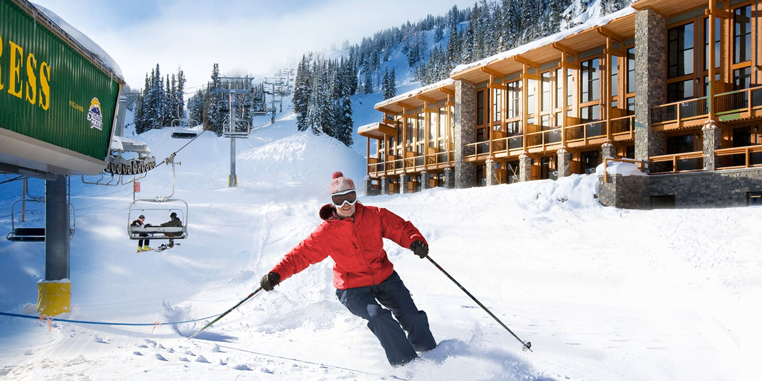 $199 -- Banff Ski-In, Ski-Out Resort incl. 2 Lift Passes