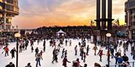 $15 -- Georgetown: Ice Skating w/Rental for 2, Reg. $30