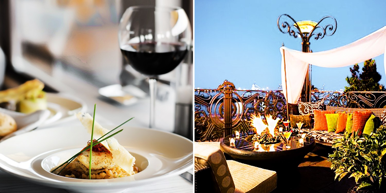 $40 -- Half-Off Riverfront Dining for 2 at Hyatt Regency