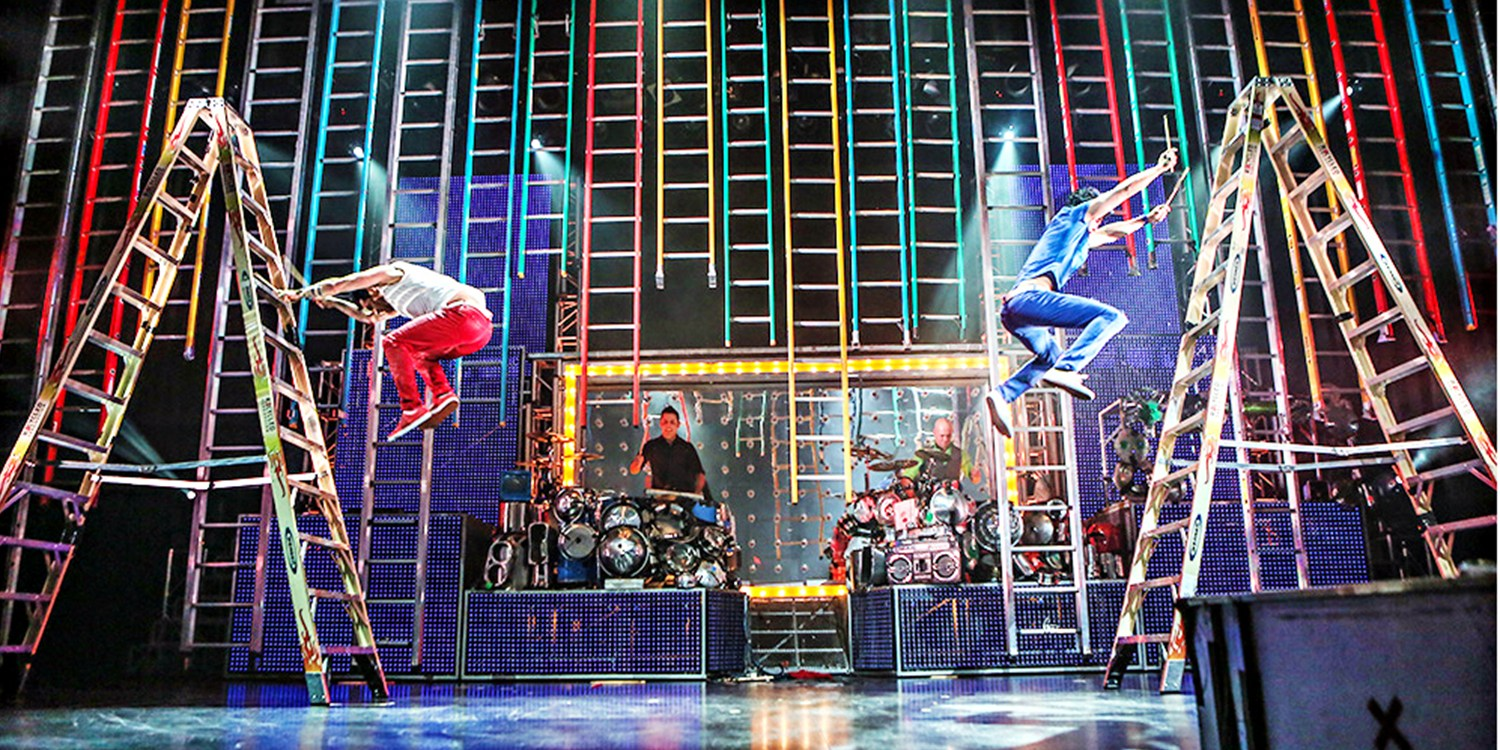 $24 -- Hit Show 'Recycled Percussion' in Vegas, Reg. $82