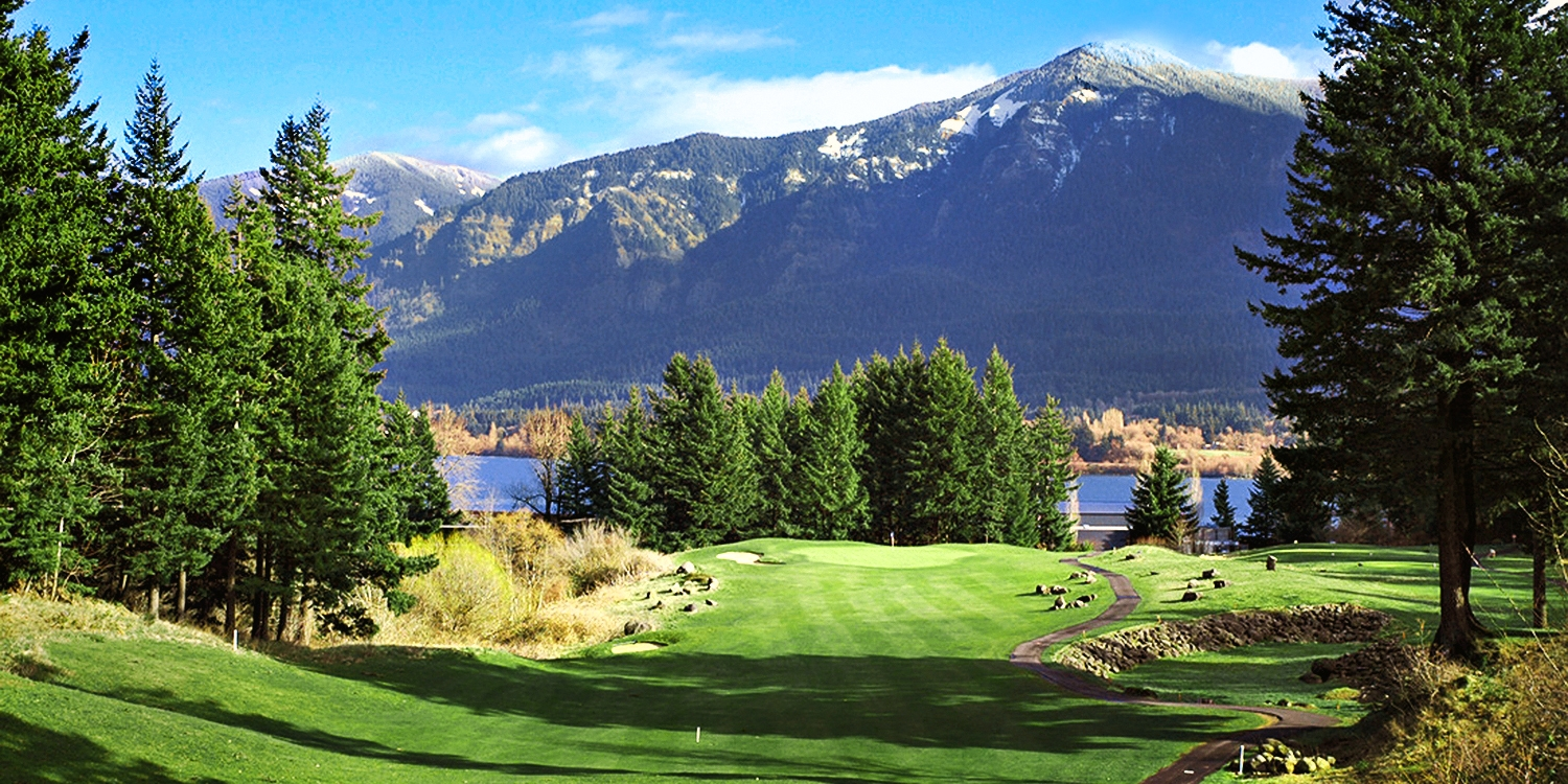 $29 -- Breathtaking Skamania Golf: 18 Holes w/Cart, Reg. $75