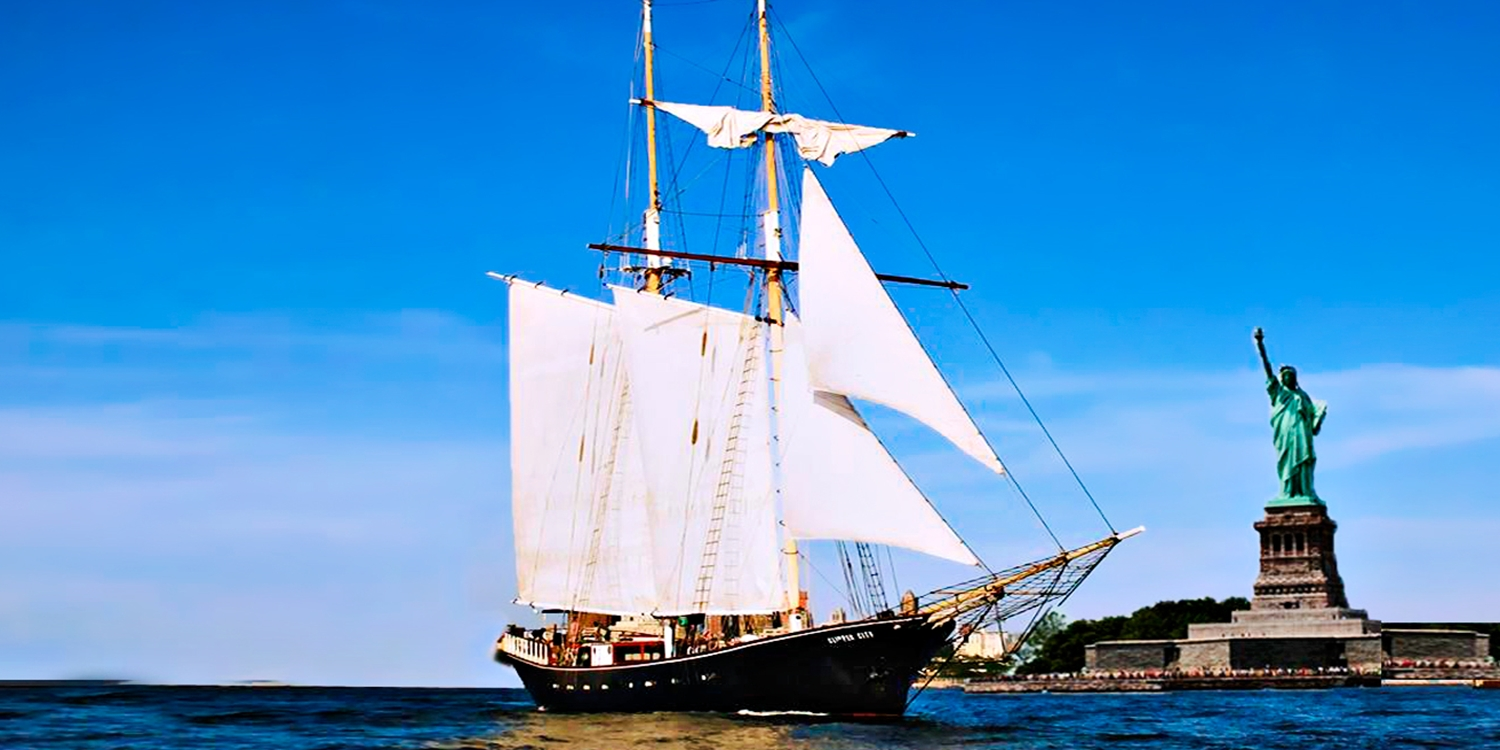 Sail on NY's Only Tall Ship: 'Wonderful' Lady Liberty Cruise