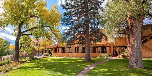 $195 -- Charming Taos Inn through October, 45% Off