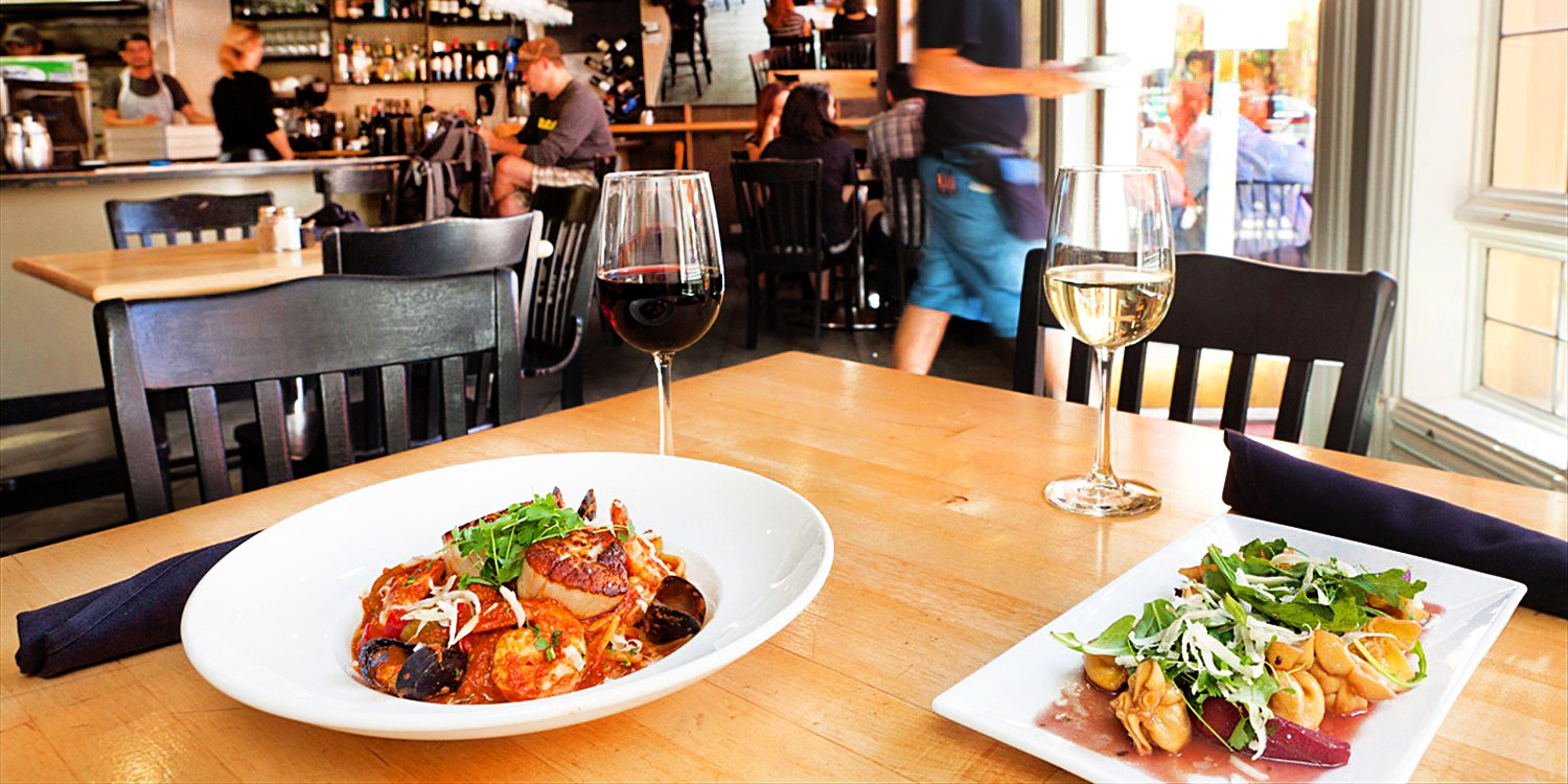 $39 -- Cafe Colore: Bottle of Wine w/Apps for 2, Reg. $64