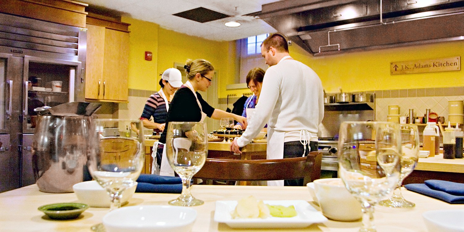 $75 -- The Essex: Cooking Class w/Dinner & Wine, Reg. $149