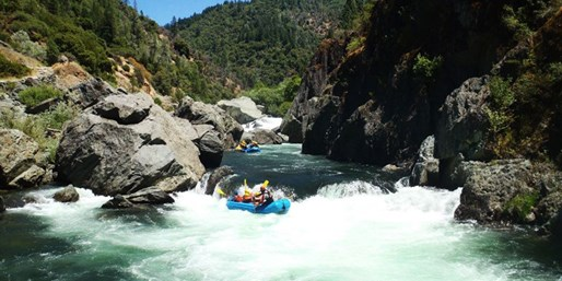 $49 & up -- Rafting, Camping & Ropes Course Packages