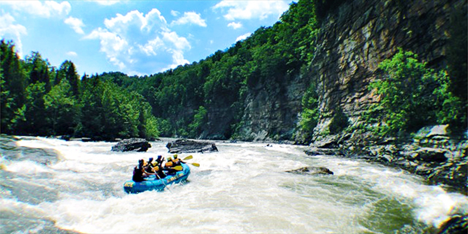 $49 & up -- Gauley River Rafting thru 10/19, Half Off