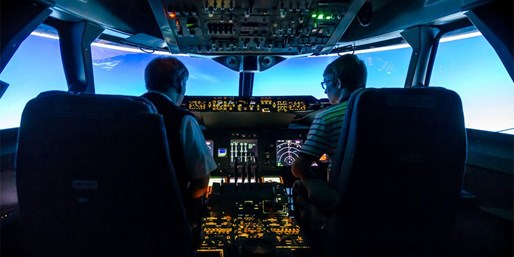 £49 -- Airbus A320 or Boeing 737 Flight-Simulator Experience