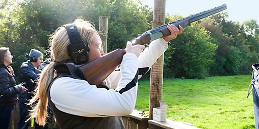 £29 -- Clay Pigeon Shooting in Worcestershire, Save 51%
