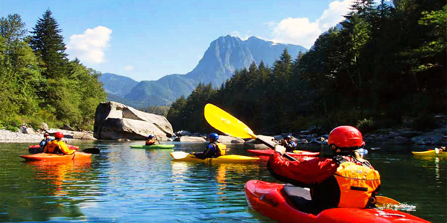 $39 -- Kayak Tour: Woodinville or Lopez Island, Reg. $79