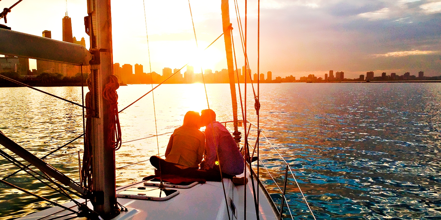 Private Lake Michigan Sailboat Charter for up to 6, 50% Off