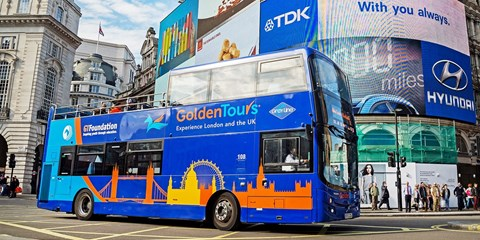 £10 -- 3-Hour Sightseeing Bus Tour of London, Was £19