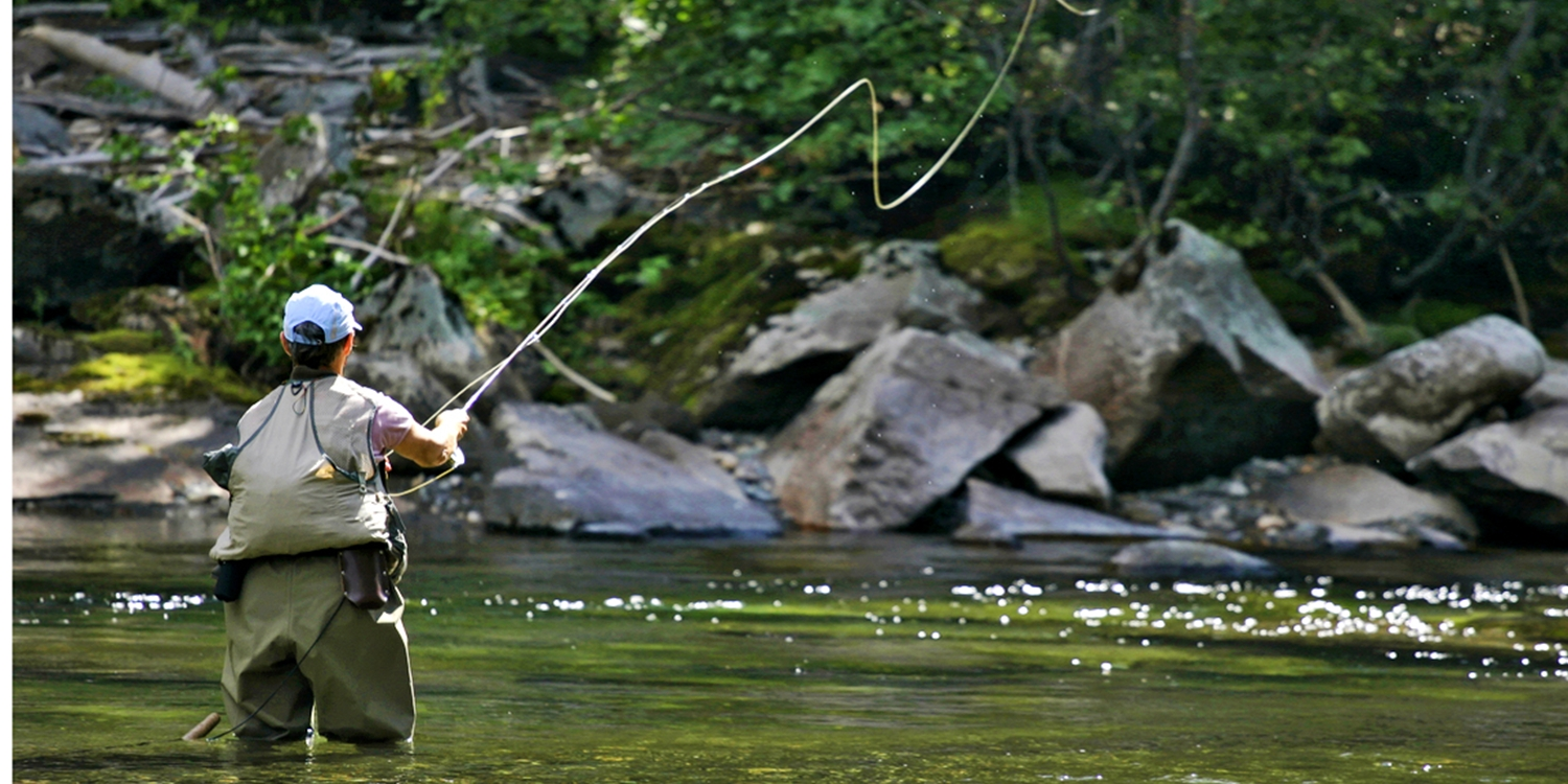 Save up to 60%: Guided Fly Fishing w/Equipment, $99 & up
