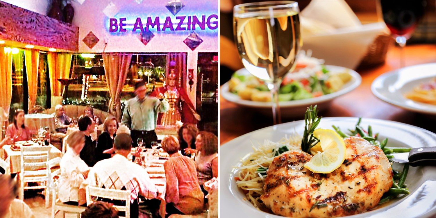 $47 -- Fine Singer Island: Dinner w/Wine for 2, Reg. $94