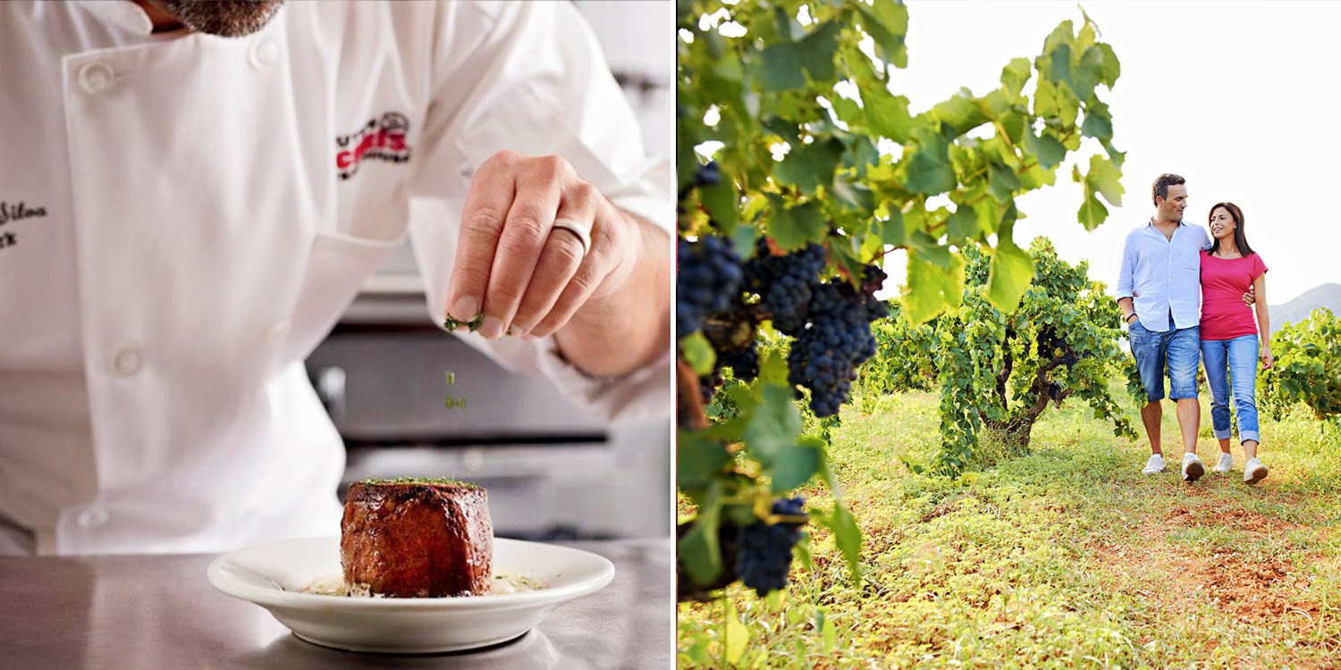 $39 -- Niagara Wine Tour for 2 incl. Dining at Ruth's Chris