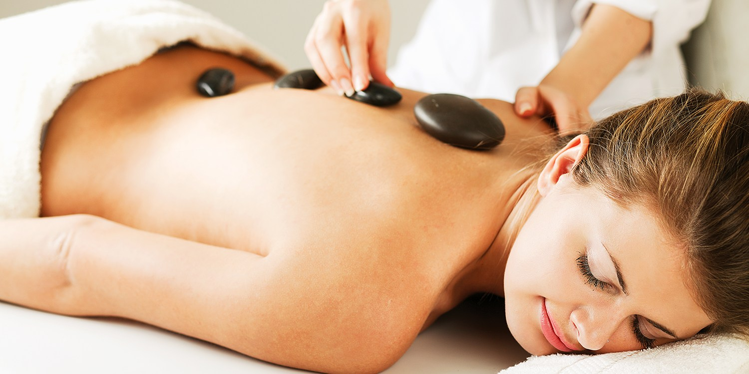 $39 -- Hot-Stone Massage & Facial at Thornhill Spa, 70% Off
