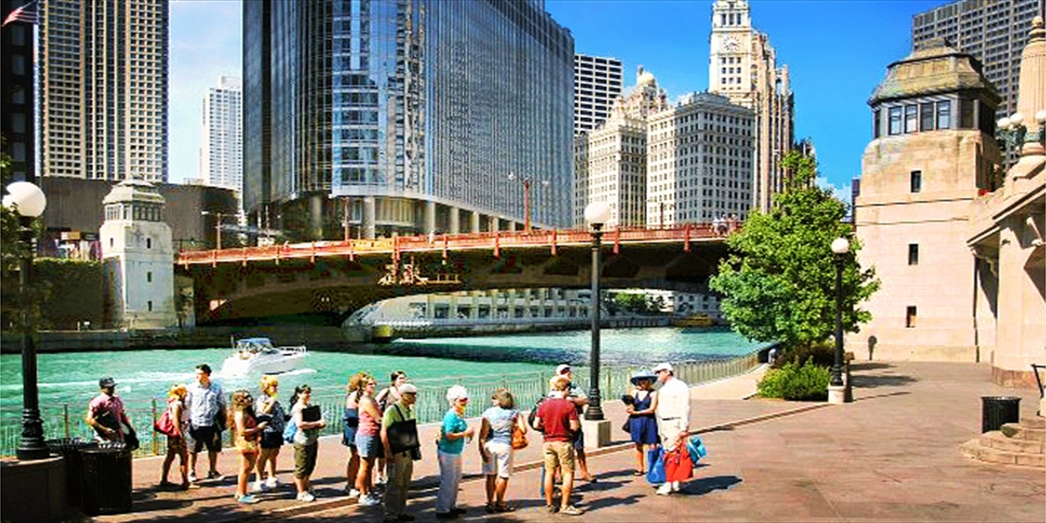 Chicago River Walk, History or Brunch Tour, 50% Off