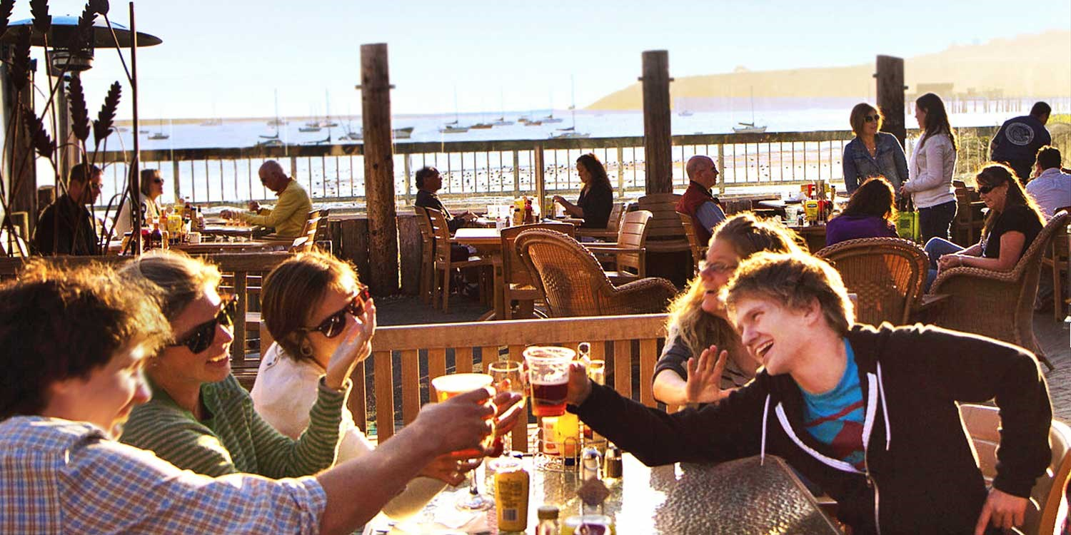 $25 -- 'Best Beach Bar': Dining for 2 at Half Moon Bay Co.