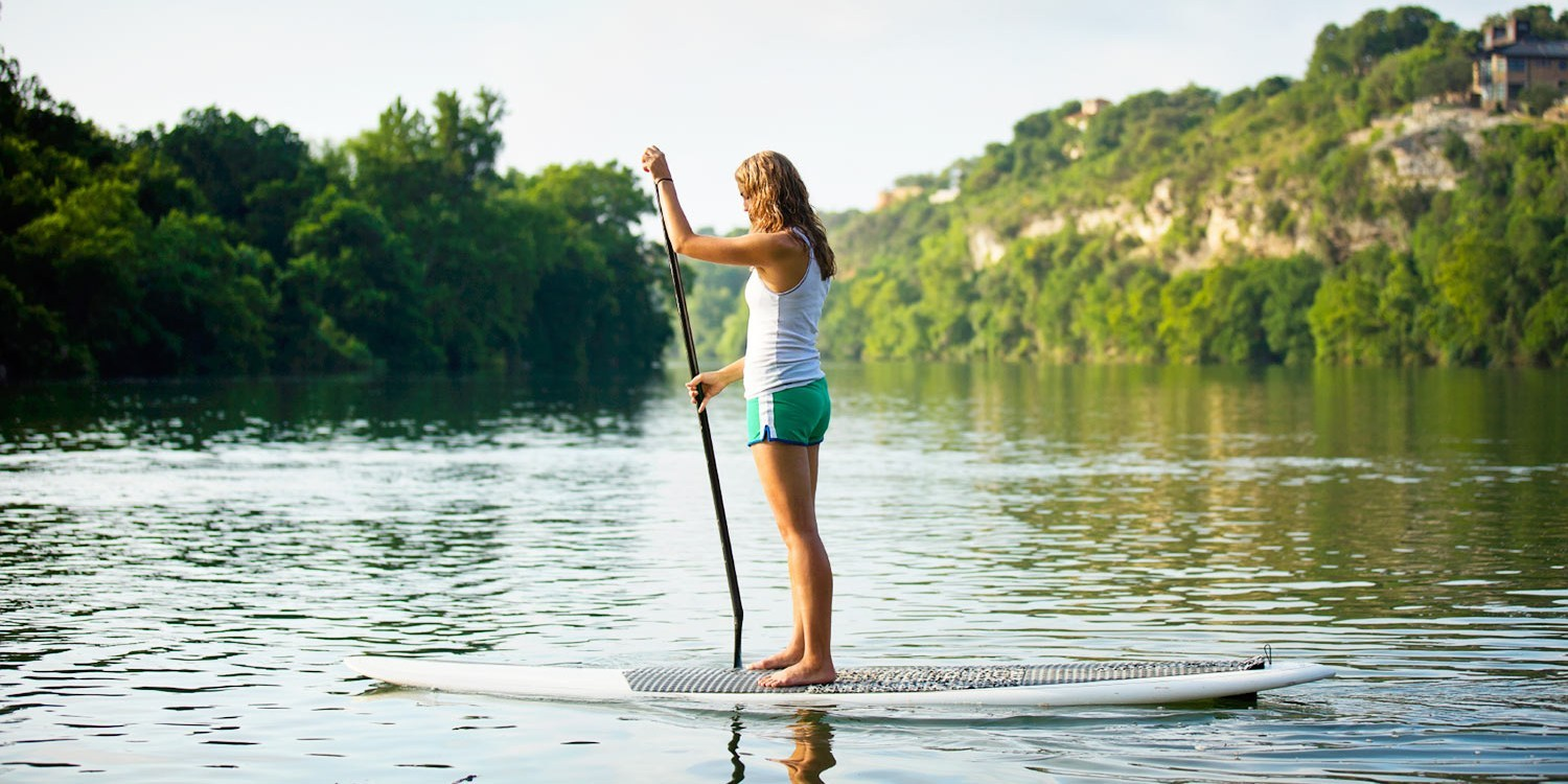 $20 -- Lake Washington: 2-Hour Paddleboard Rental, Reg. $40