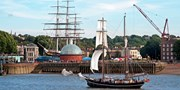 £42 -- Thames Tall-Ship Cruise with Free Drink, Save 33%