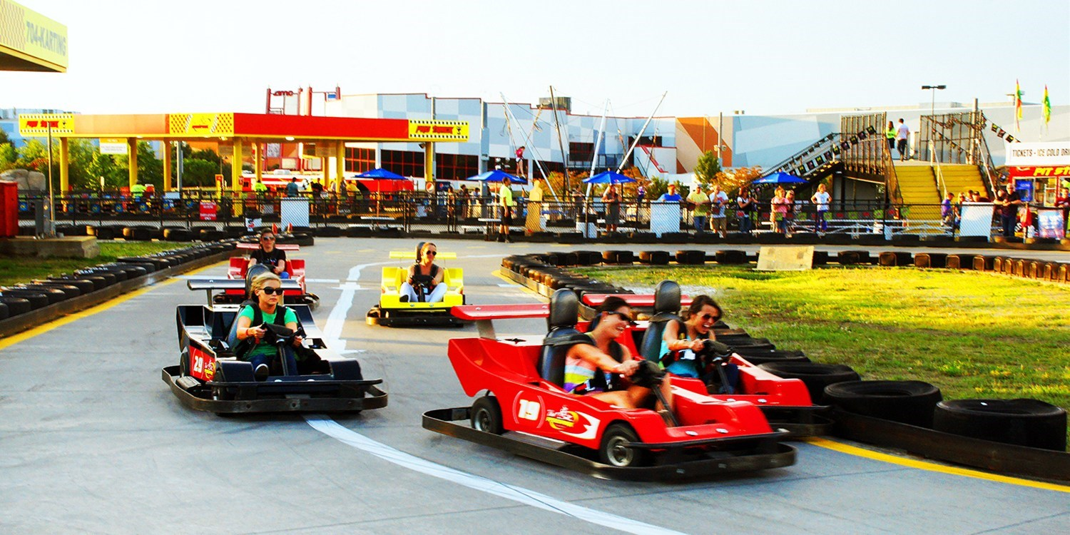 $29 -- Unlimited Go-Kart, Park Pass & Ice Skating, Reg. $57