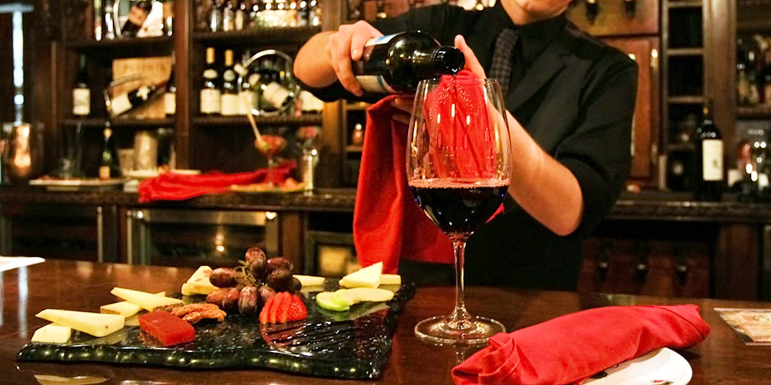 $39 -- Versai The Wine Bar: Night Out for 2, Reg. $78