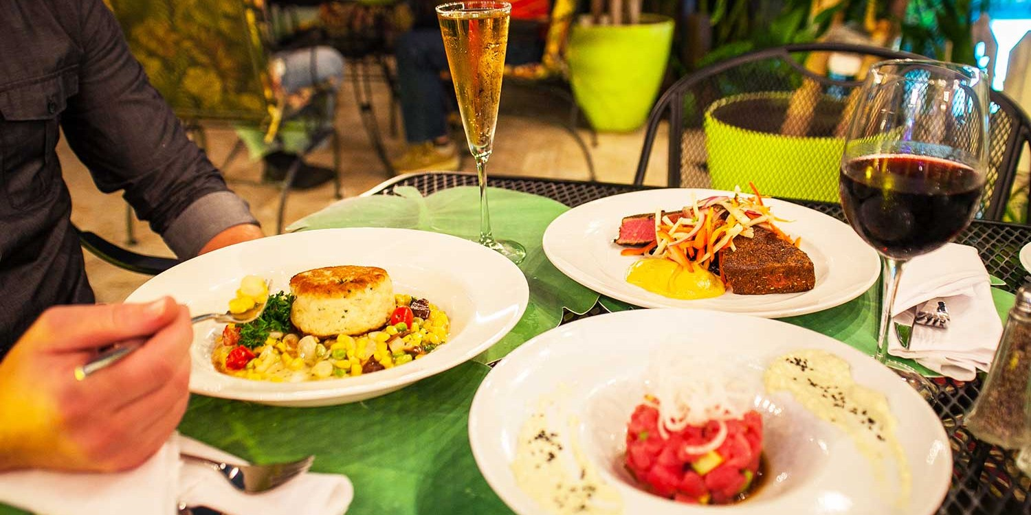 $25 -- Delray Beach 'Gem': Alfresco Dining for 2, Reg. $50