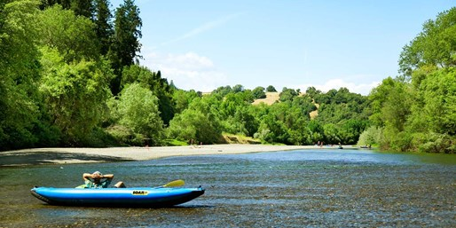 $35 -- Russian River: Full-Day Canoeing Adventure, Reg. $60
