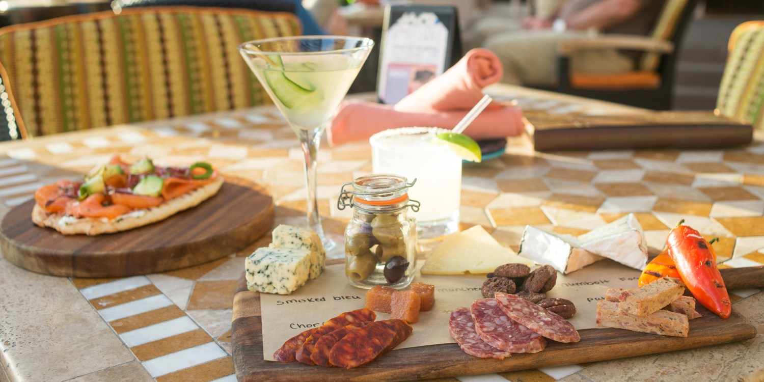 $45 -- Four Seasons: Cocktails & Apps for 2, Reg. $100