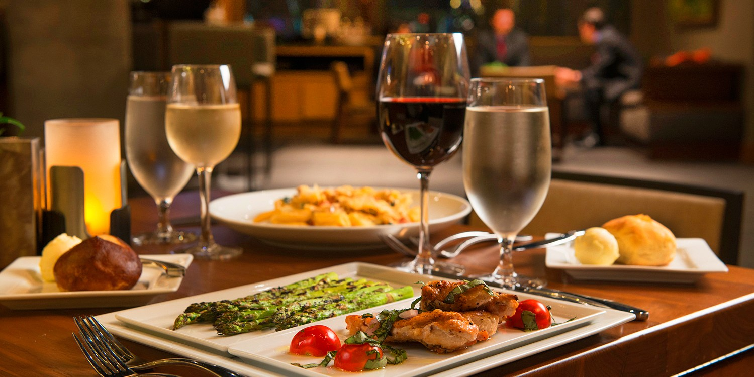 Dinner w/Drinks or Lunch for 2 at Top-Rated Westin, 50% Off