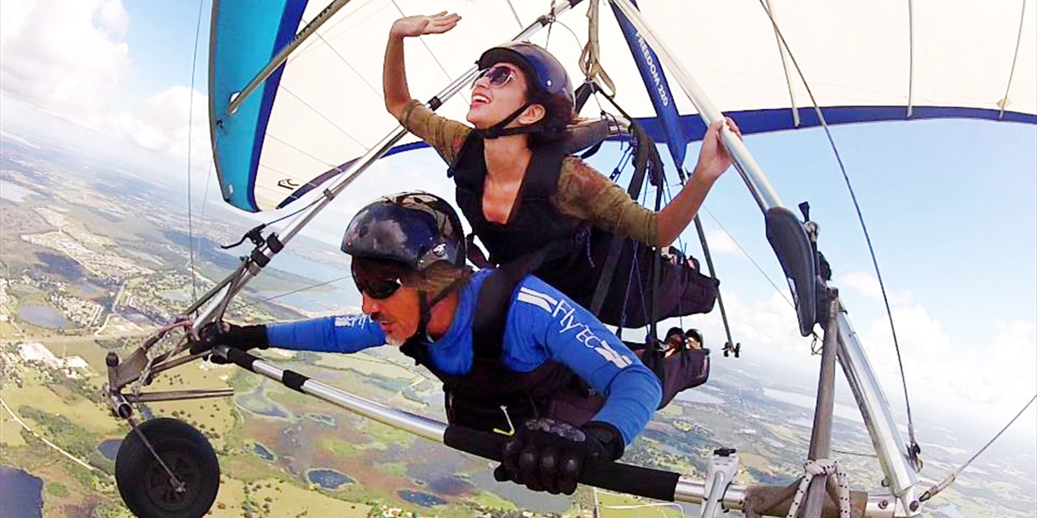 Save 50% on Tandem Hang Gliding over Downtown Orlando