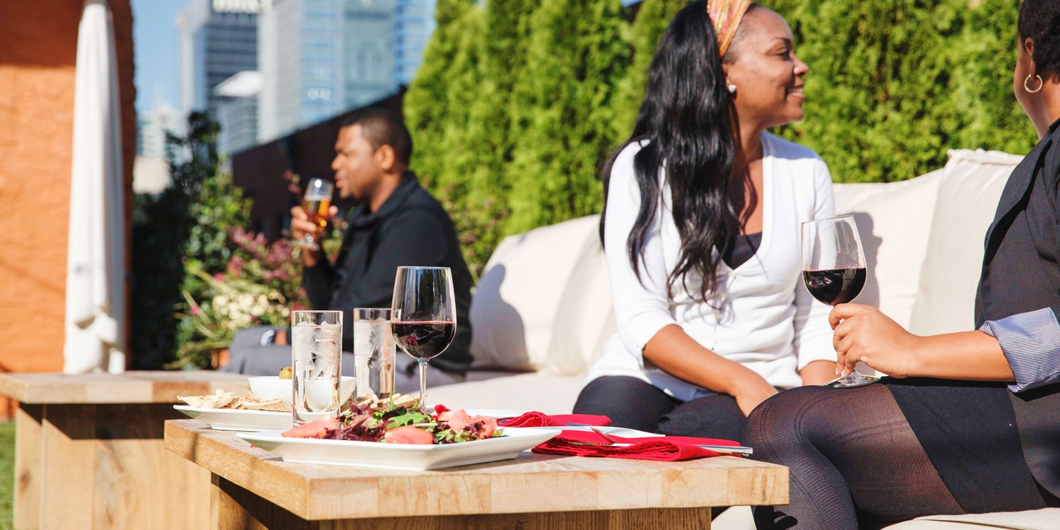 $25 -- Artmore Hotel: Drinks & Apps in the Cocktail Garden