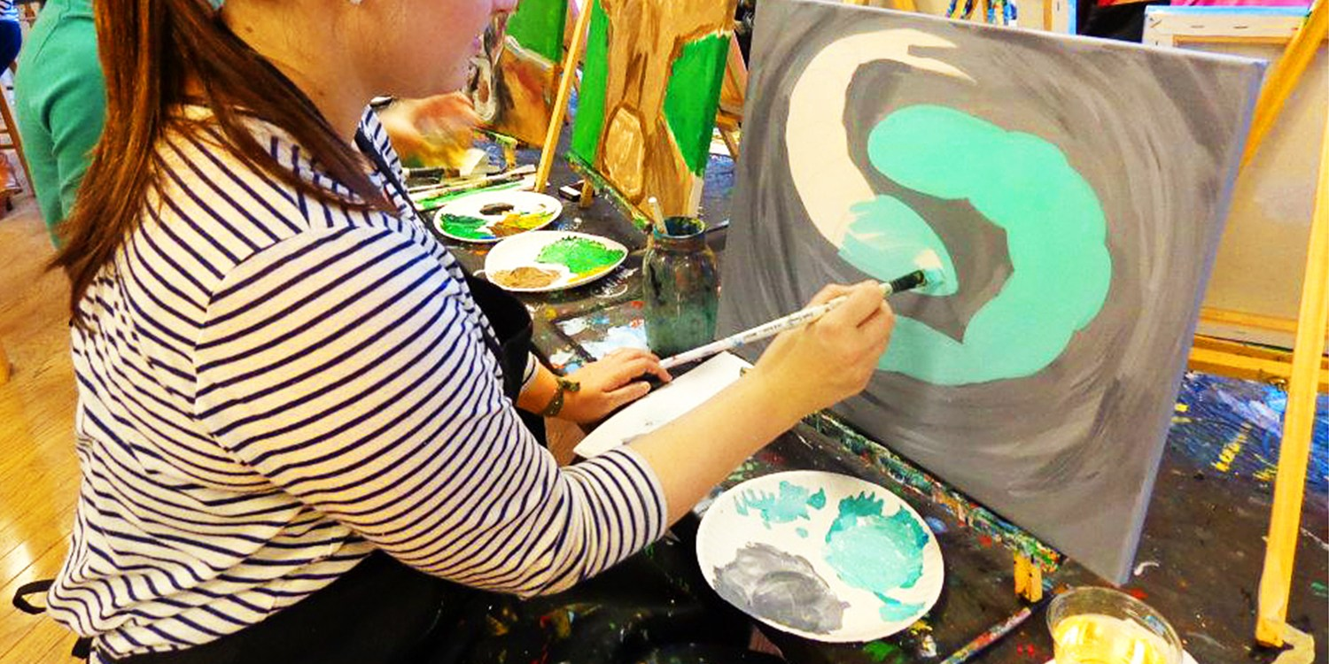 $18 -- Top-Rated Art Studio: BYOB Painting Class, Reg. $35