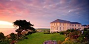 116-152 € -- Panoramahotel in Cornwall mit Dinner, -57%