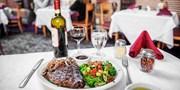 Stratosphere: Italian Dinner for 2 at 'Vegas Institution'