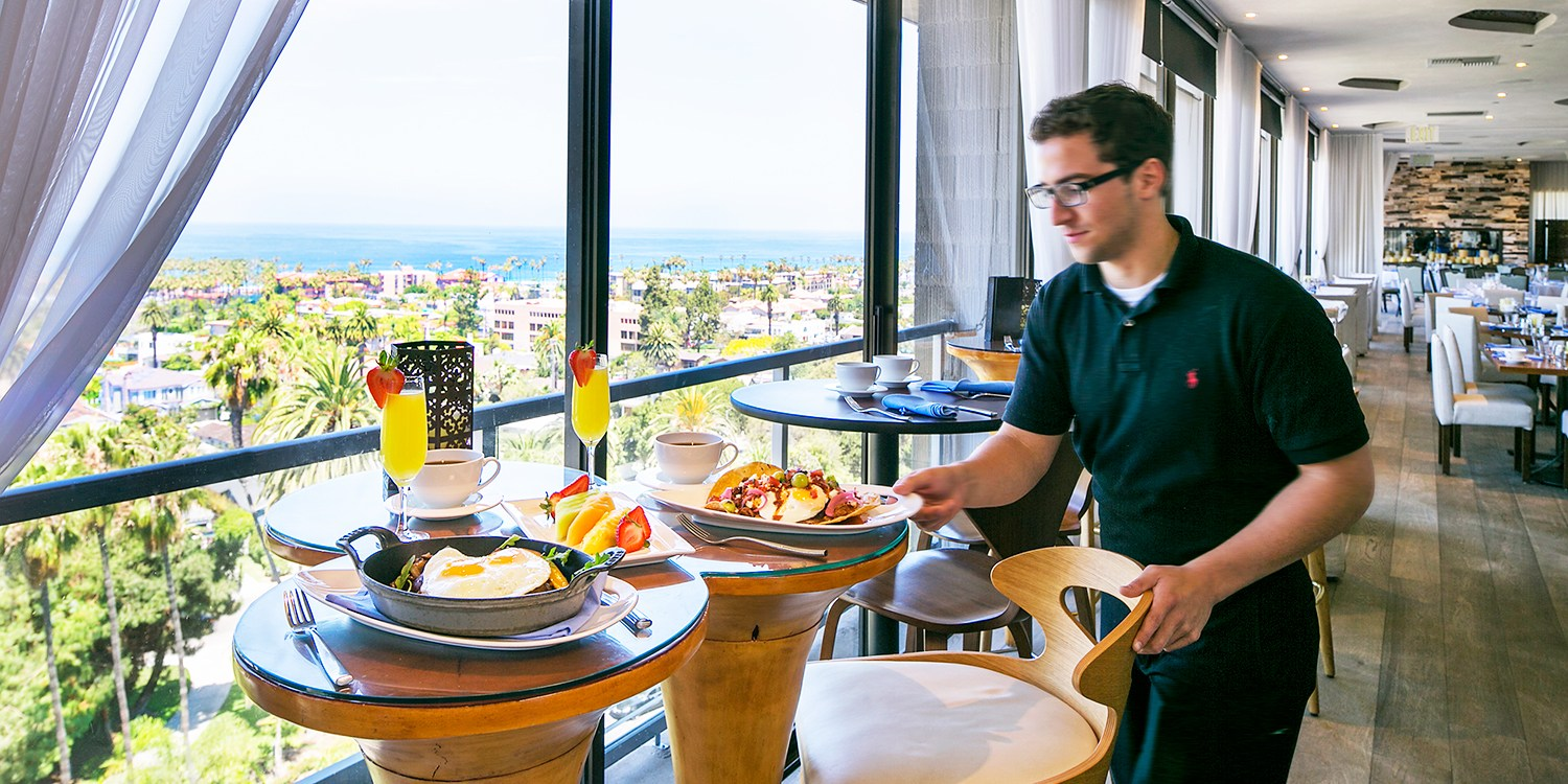 $29 -- Hotel La Jolla: Brunch & Mimosas for 2, Reg. $65