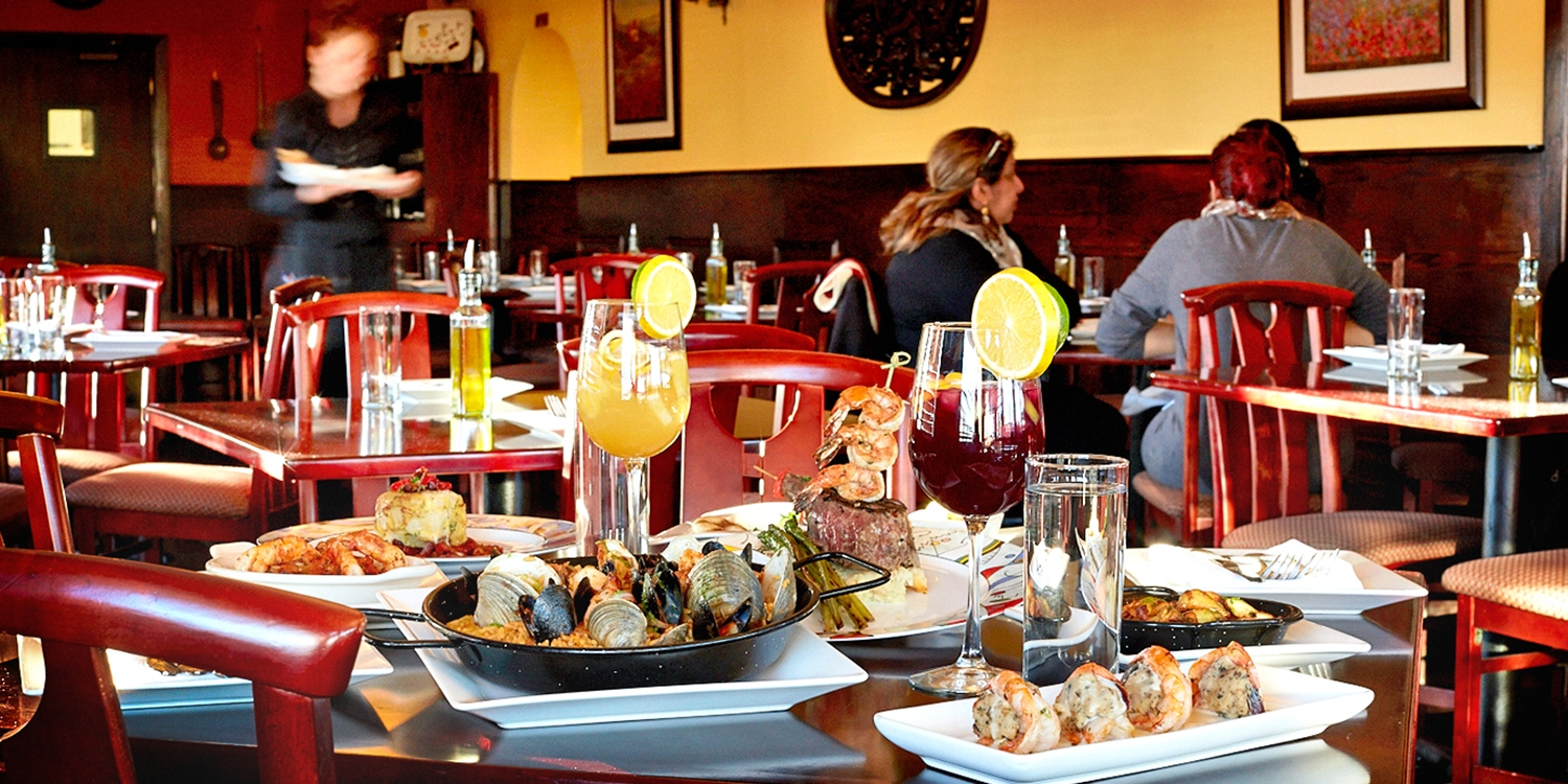 $49 -- Saffron: Eclectic Spanish Fare for 2 w/Live Flamenco