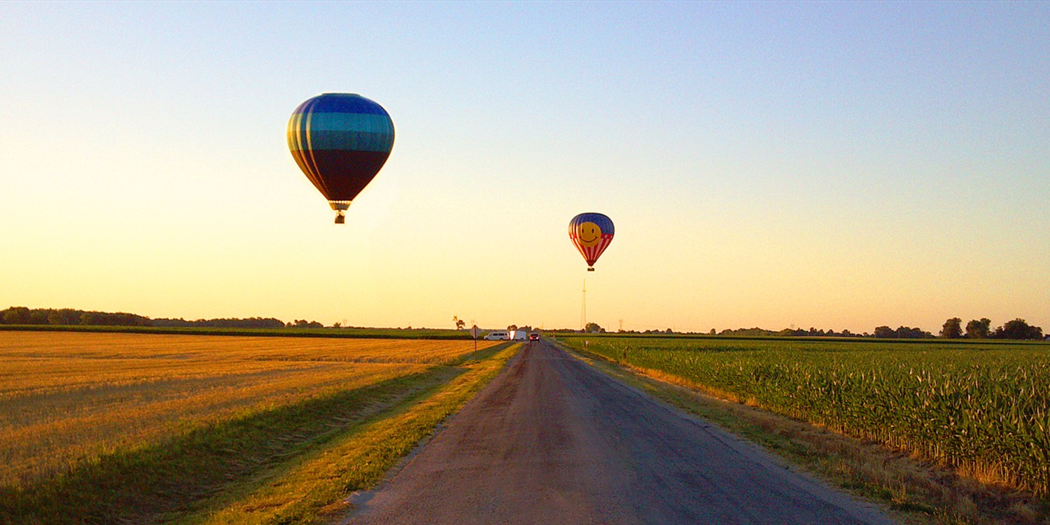 $189 -- Hot Air Balloon Ride outside St. Louis, Reg. $399