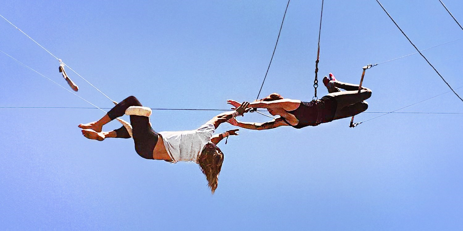 $35 & up -- 40% Off Trapeze Lessons for 1 or 2