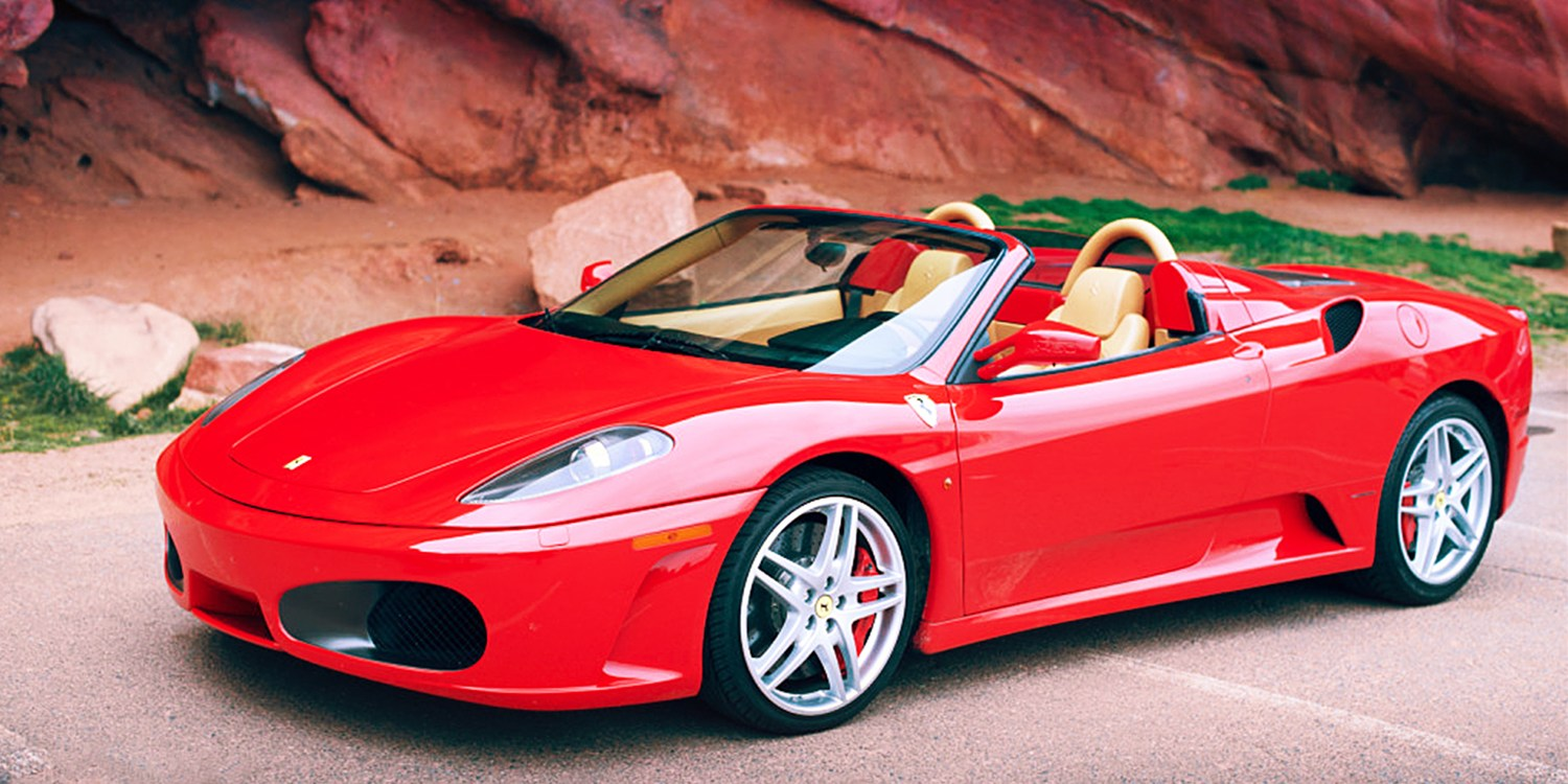 $69 & up -- Dream Car Rental: Porsche or Ferrari, 50% Off