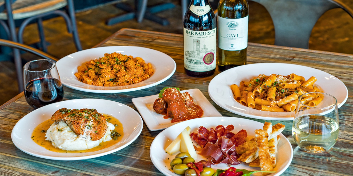 $35 -- Osteria Cibo: Italian Dinner for 2 w/Wine, Reg. $68