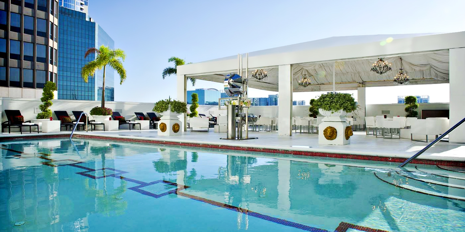 $99 -- Grand Bohemian: Rooftop Pool & Spa Day, Reg. $185