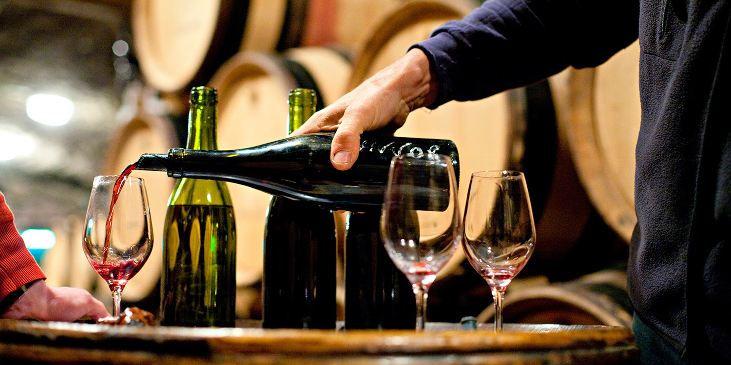 $39 -- Wine Tasting & Apps for 2 w/Bottle to Go, 55% Off