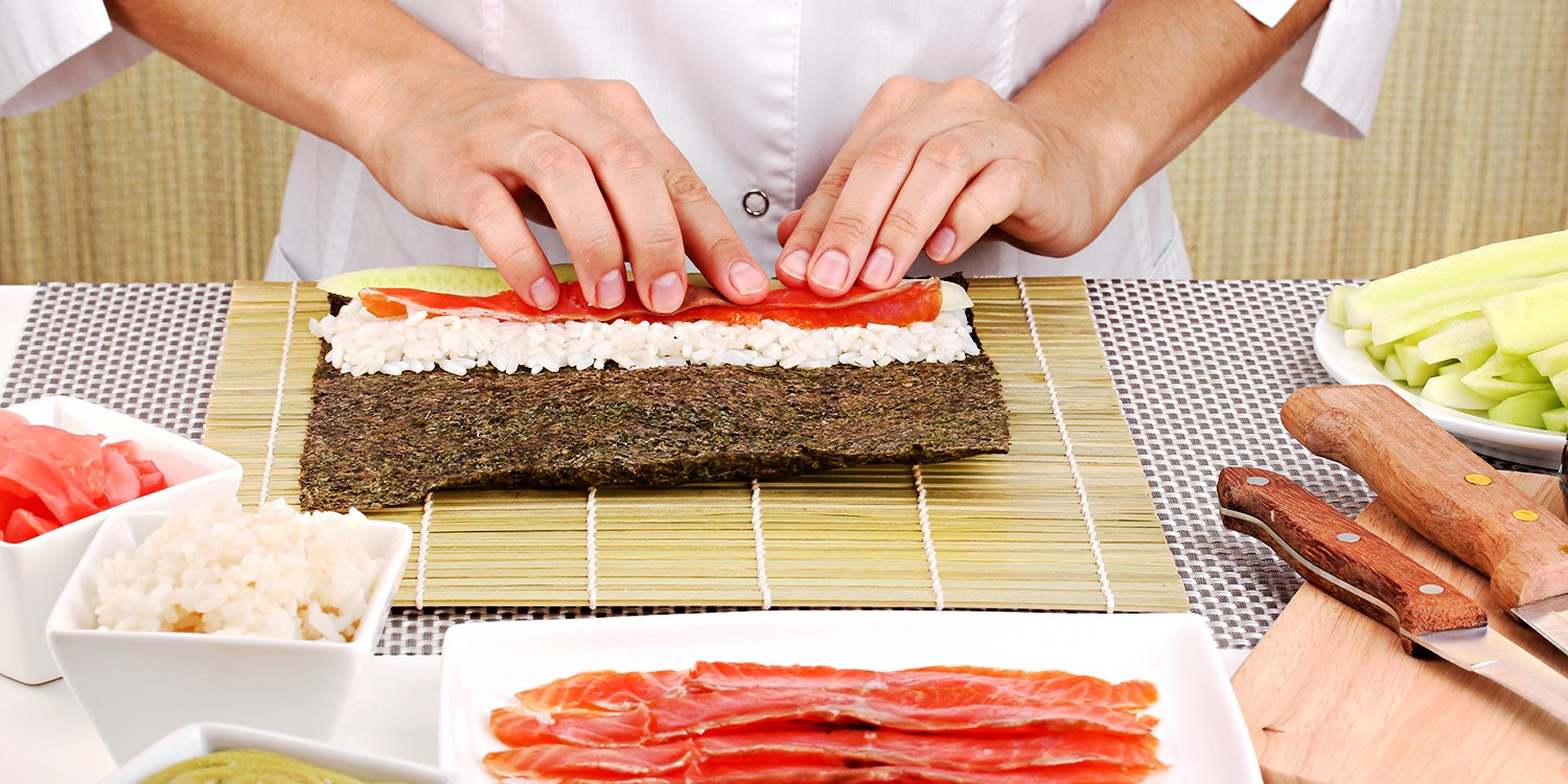 Learn to Make Sushi: Introductory Class for 1 or 2, 50% Off